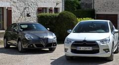 Essai Citroën DS4 vs Alfa Romeo Giulietta : tenue correcte exigée