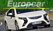 Europcar intègre des Opel Ampera électriques dans sa flotte