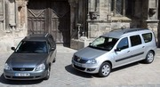 Dacia Logan MCV vs Lada Priora break