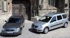 Dacia Logan MCV vs Lada Priora break