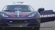 Lotus Evora S : deux exemplaires pour les Carabiniers italiens