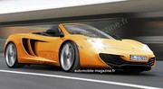 McLaren MP4-12C Roadster : Nouvel air