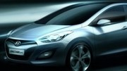 Hyundai i30 : 1er sketch officiel
