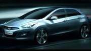 Premier dessin officiel de la Hyundai i30