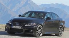 La Lexus IS-F évolue légèrement