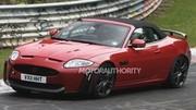 Premières images de la Jaguar XKR-S Cabriolet