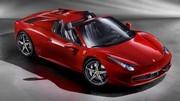 Nouvelle Ferrari 458 Spider : terrible coupé-cabriolet !