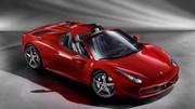 Ferrari 458 Spider : Avec toit en dur !