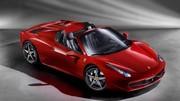 La Ferrari 458 Italia Spider à Francfort