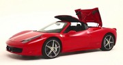 La Ferrari 458 Italia enlève le haut pour de bon