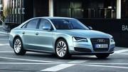 Audi A8 Hybride : haut de gamme vert au Salon de Francfort