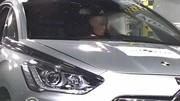 Crash-test Citroën DS5 : Elle assure au contact