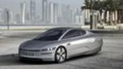 Un véhicule électrique mono-siège VW