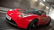 La Tesla Roadster en location chez Europcar