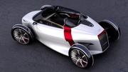 Audi Urban Concept : Ouverture progressive