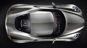 Alfa Romeo 4C Concept : parure argentée pour Francfort