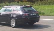 Saab 9-5 Estate surprise sur l'A12