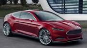 Ford Evos Concept : coupé sportif hybride annoncé pour Francfort 2011