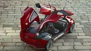 Ford Concept Evos, une berline aiguisée pour Francfort