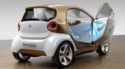 Smart Forvision, un concept qui annonce la prochaine Fortwo