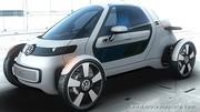 Une monoplace électrique, la Volkswagen Nils