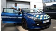 Caradisiac à bord de la Mégane RS de la gendarmerie