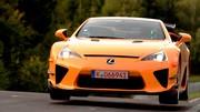 Lexus LFA Nürburgring Package en live