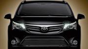 Toyota Avensis restylée, premier aperçu