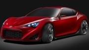 Un nouveau teaser pour la Toyota FT-86 II Concept