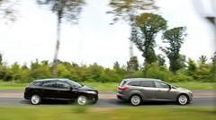 Essai Ford Focus SW vs Renault Mégane Estate : Un sac à dos pour la rentrée