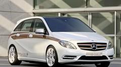 Mercedes Classe B E-Cell Plus : Courant alternatif