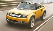 Land Rover DC100 Sport : Nostalgique et technologique