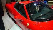 Ferrari 458 Spider, comme la Wind