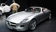 Mercedes SLS Roadster : Dévoilée au grand jour