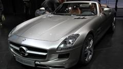 Mercedes SLS AMG Roadster, le papillon s'est envolé