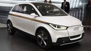 Audi A2 Concept, mélange d'A1 et d'Up !