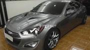 Hyundai Genesis Coupé restylé : nouvelle photo