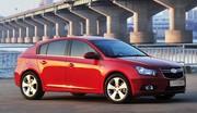 Les prix et les équipements de la Chevrolet Cruze 5 portes