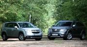 Essai Fiat Freemont vs Chevrolet Orlando : la guerre des prix