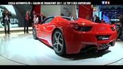 Salon de Francfort 2011: notre Top 5 des Supercars en vidéo