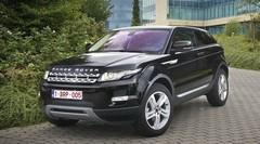 Essai Range Rover Evoque Coupé TD4