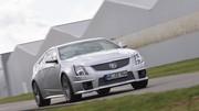 Essai Cadillac CTS-V Coupé : Angles et démons