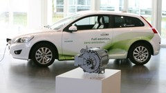 Première Volvo C30 électrique livrée à Siemens