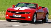 Essai Chevrolet Camaro Cabriolet V8 6.2 405 ch : Le rêve américain