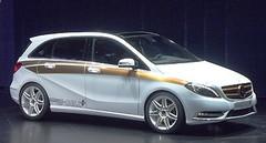 Concept Mercedes classe B E-Cell Plus : de bonnes chances pour la grande série