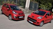 Essai Kia Picanto 1.0 69 ch vs Peugeot 107 1.0 68 ch : Droit de citées