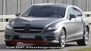 Le Mercedes CLS Shooting Break de série montre ses lignes