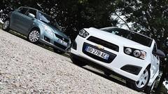 Essai Chevrolet Aveo 1.2 86 ch vs Suzuki Swift 1.2 94 ch : Le charme atout prix