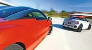 Essai Mini Coupé John Cooper Works contre Peugeot RCZ 1.6 THP 200 : Boules de muscles