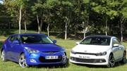 Essai Hyundai Veloster vs Volkswagen Scirocco : que de la gueule ?